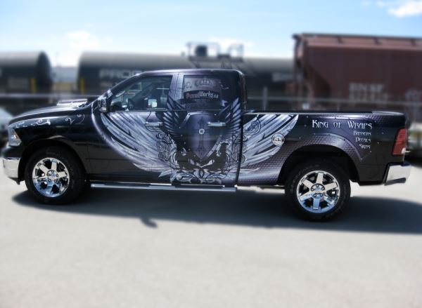 Truck Wraps Weighing The Pros And Cons Diesel Tech Magazine