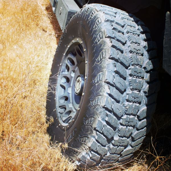 you wont be disappointed with these tires the interco trxus mt offers a distinctive sidewall design which looks ultra aggressive to prius owners