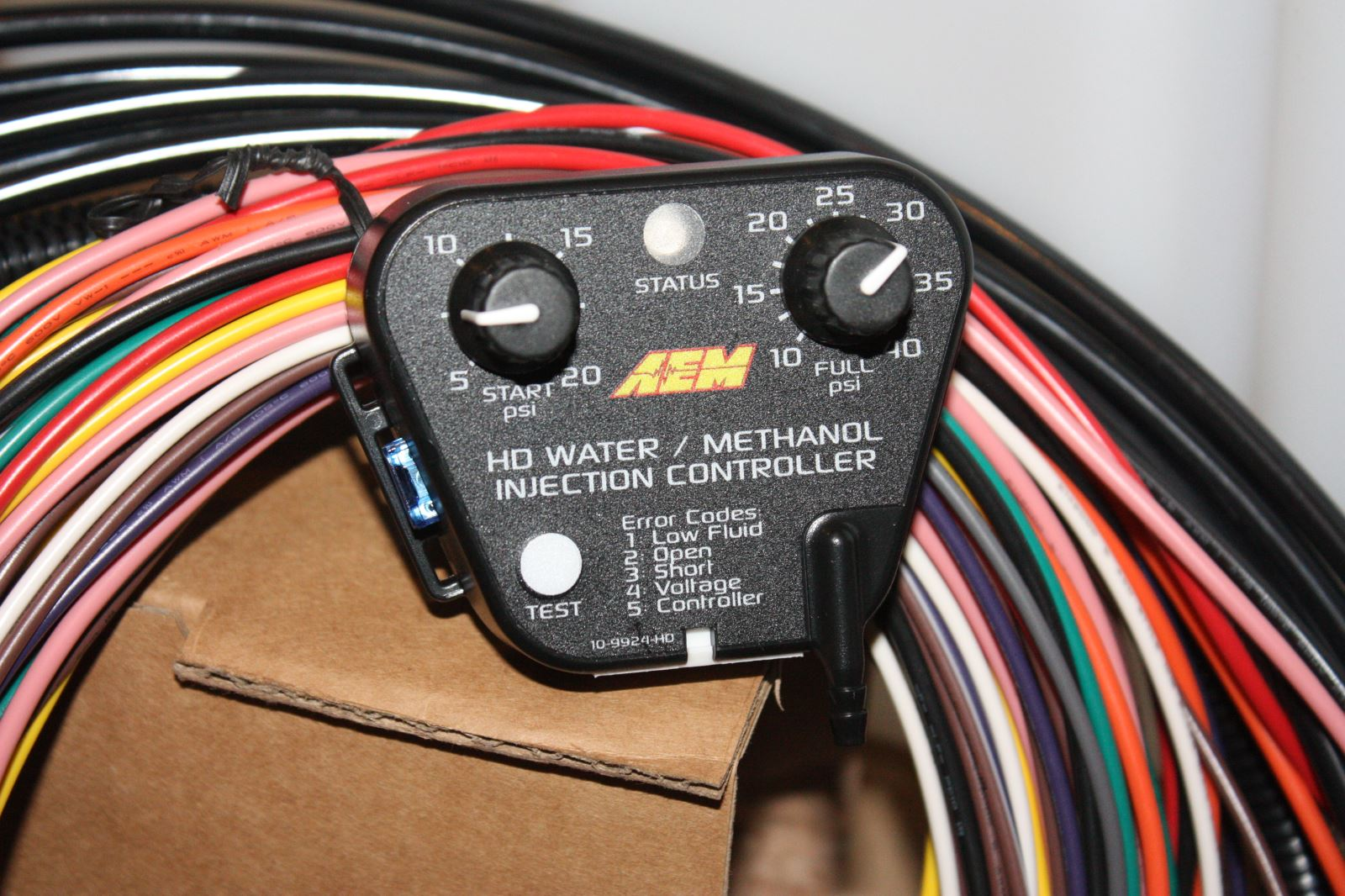 Water Injection Aem Power Diesel Tech Magazine 4r100 Wiring Harness Clip For More Information On These Kits And Other Products Like Its Brute Force Intakes Visit Aempowercom Or Call 310 484 2322