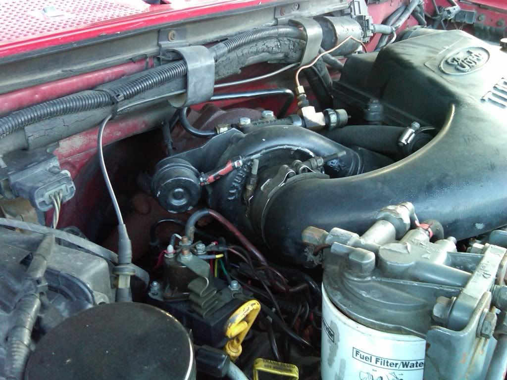 Troubleshooting Part 3 Ford Power Stroke Diesel Tech Magazine Fuel Filter Housing For 1994 7