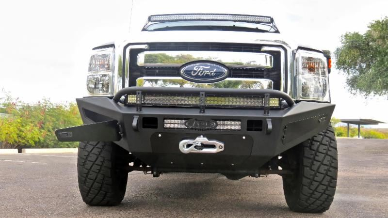 Redesigned Honey Badger Front Bumper From Addictive Diesel ...