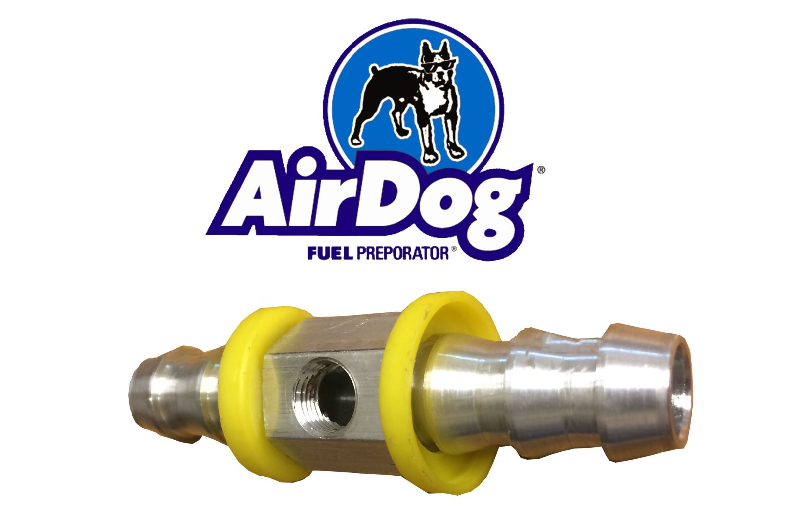 Fuel Pressure Tee From Pureflow Airdog Diesel Tech Magazine Filters By Moving The Installation Closer To Engine Itself You Ensure That Youre Getting Most Accurate Reading For Your