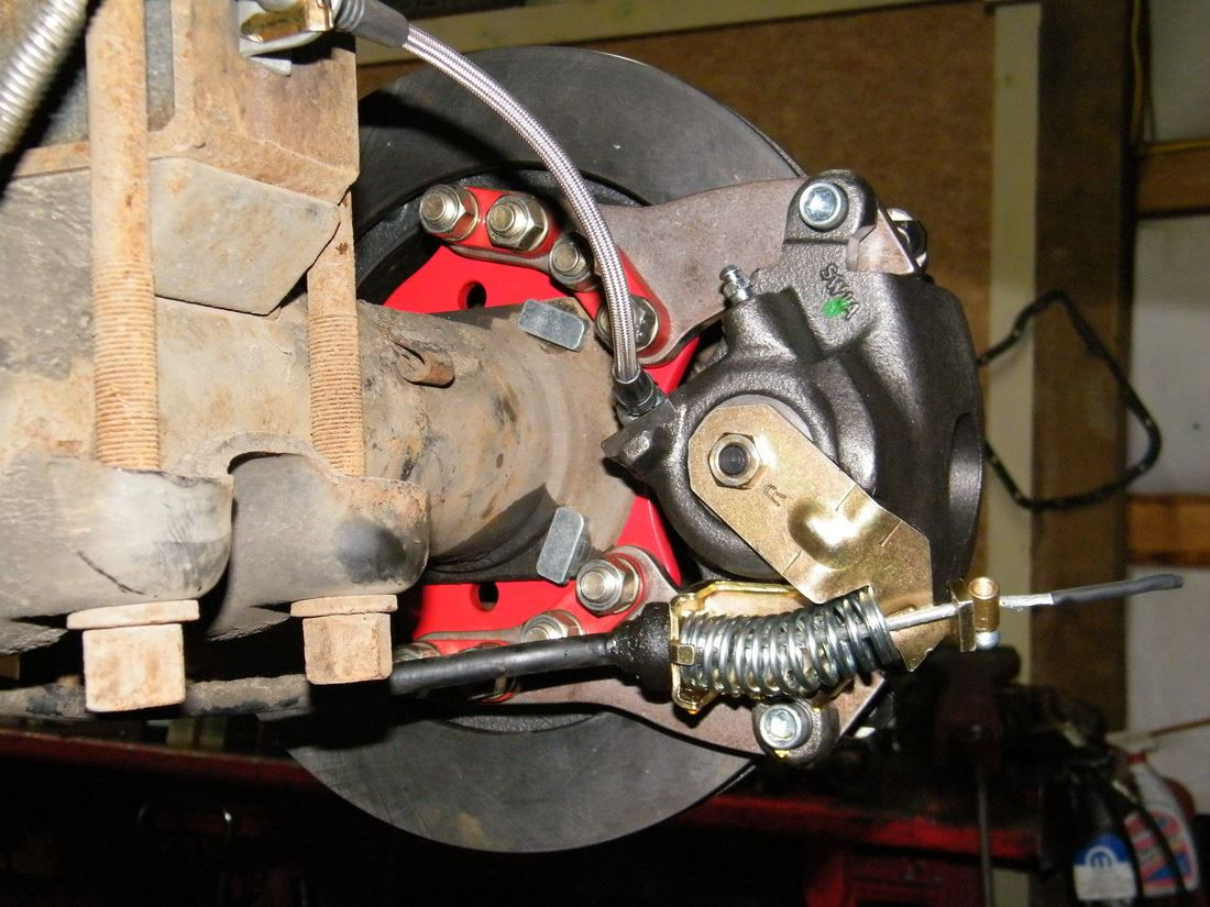 Rear Disc Brake Conversion Kits From Egr Brakes Diesel