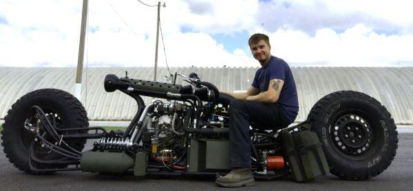 This Diesel Bike Is an Atomic Bomb   Diesel Tech Magazine