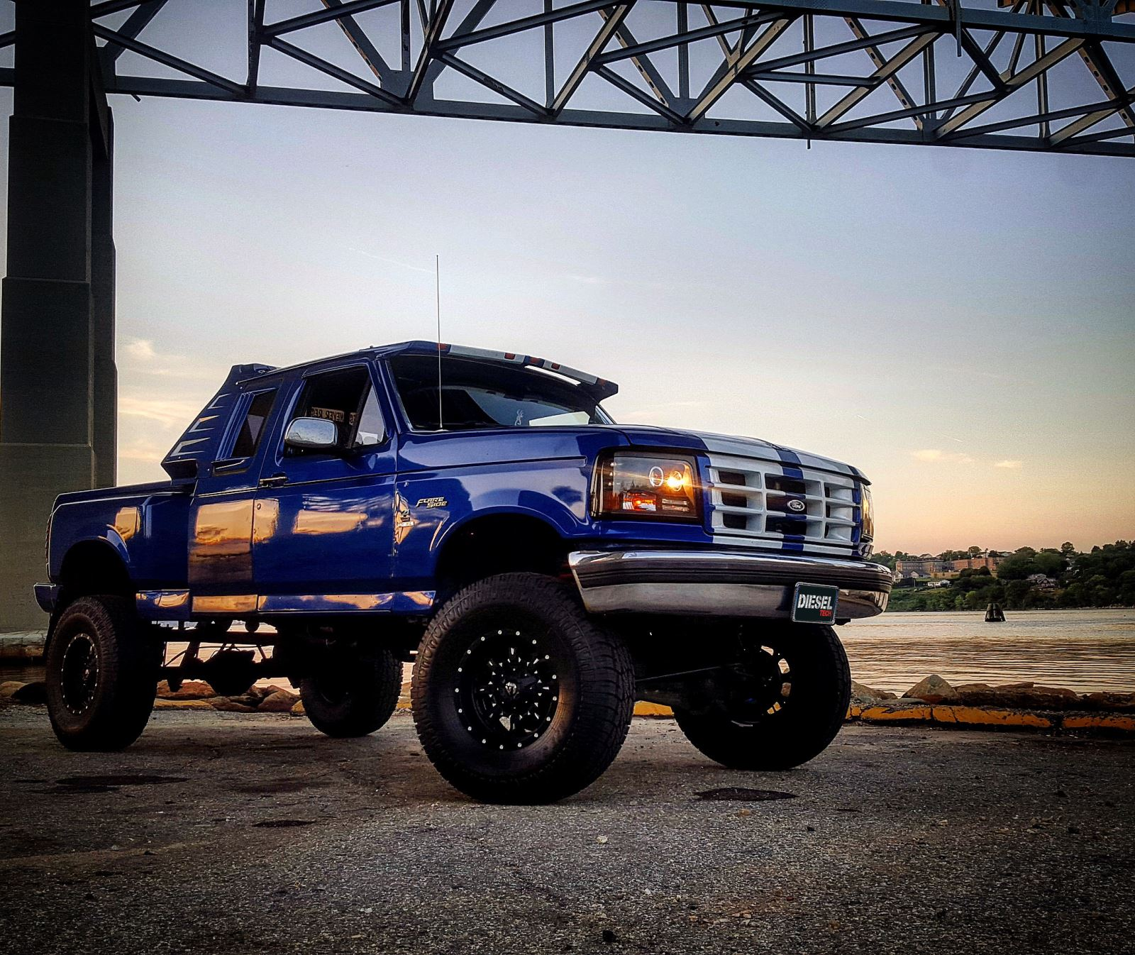 Build A Truck Ford: The Best Of Both Worlds OBS Ford, Meet Cummins