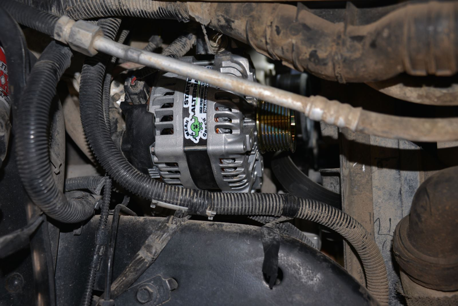 What Does Garage Mean: DT Garage: Installing A Mean Green Alternator
