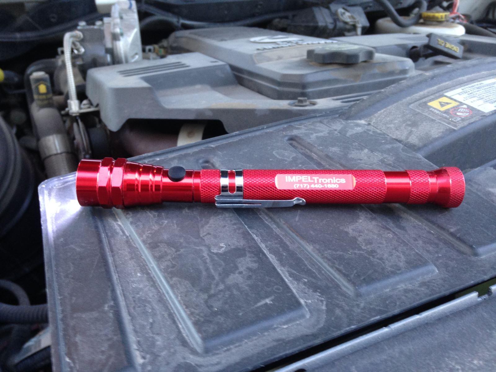 must have for diy mechanics impeltronics magnetic flashlight