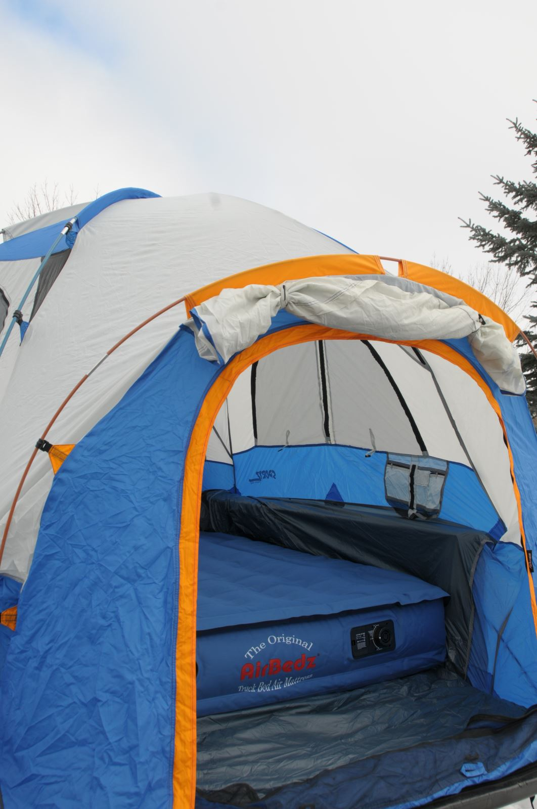 Camper Special Airbedz And Sportz Truck Tent The Perfect