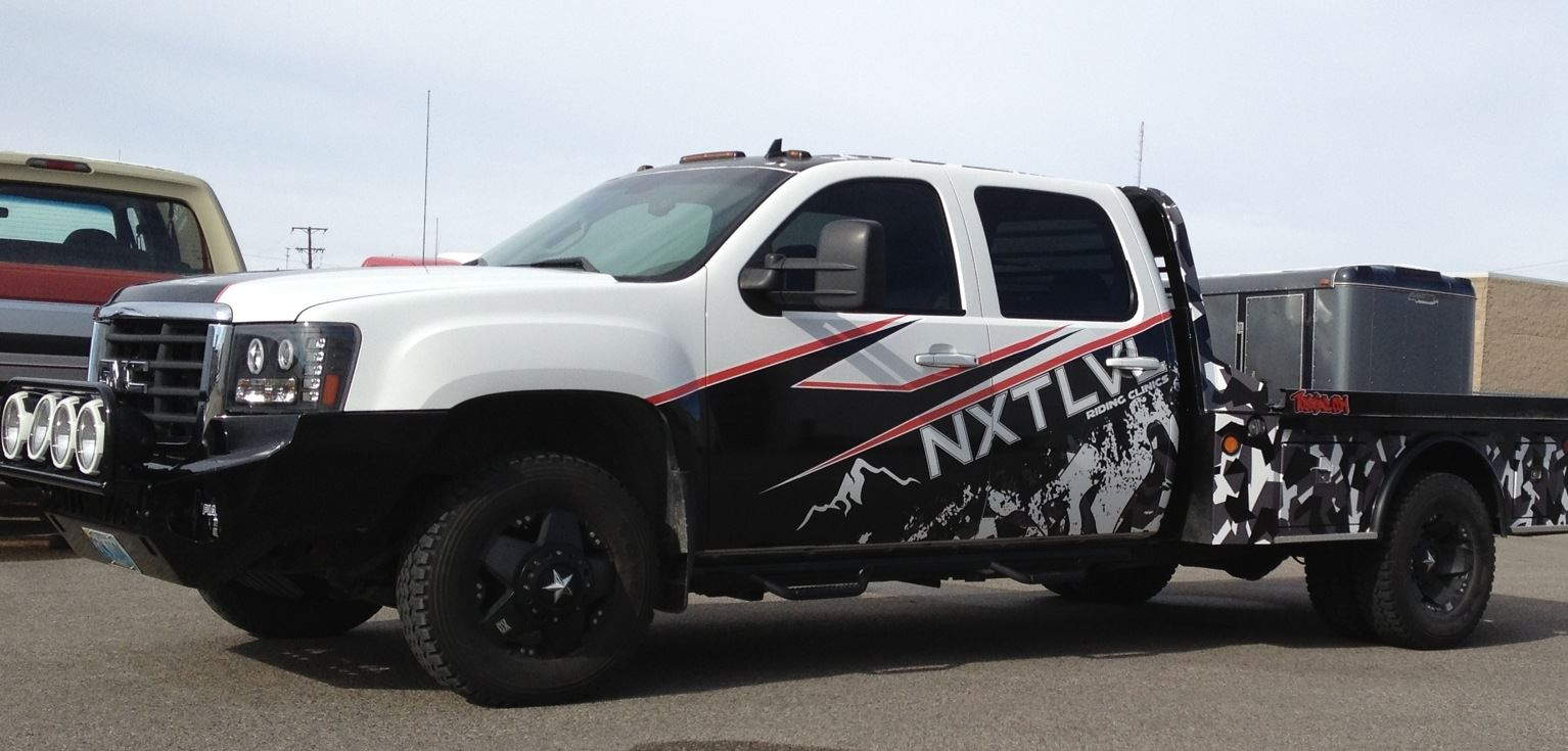 Truck Wraps Weighing The Pros And Cons Diesel Tech Magazine 2014 Dodge Ram Paint Colors