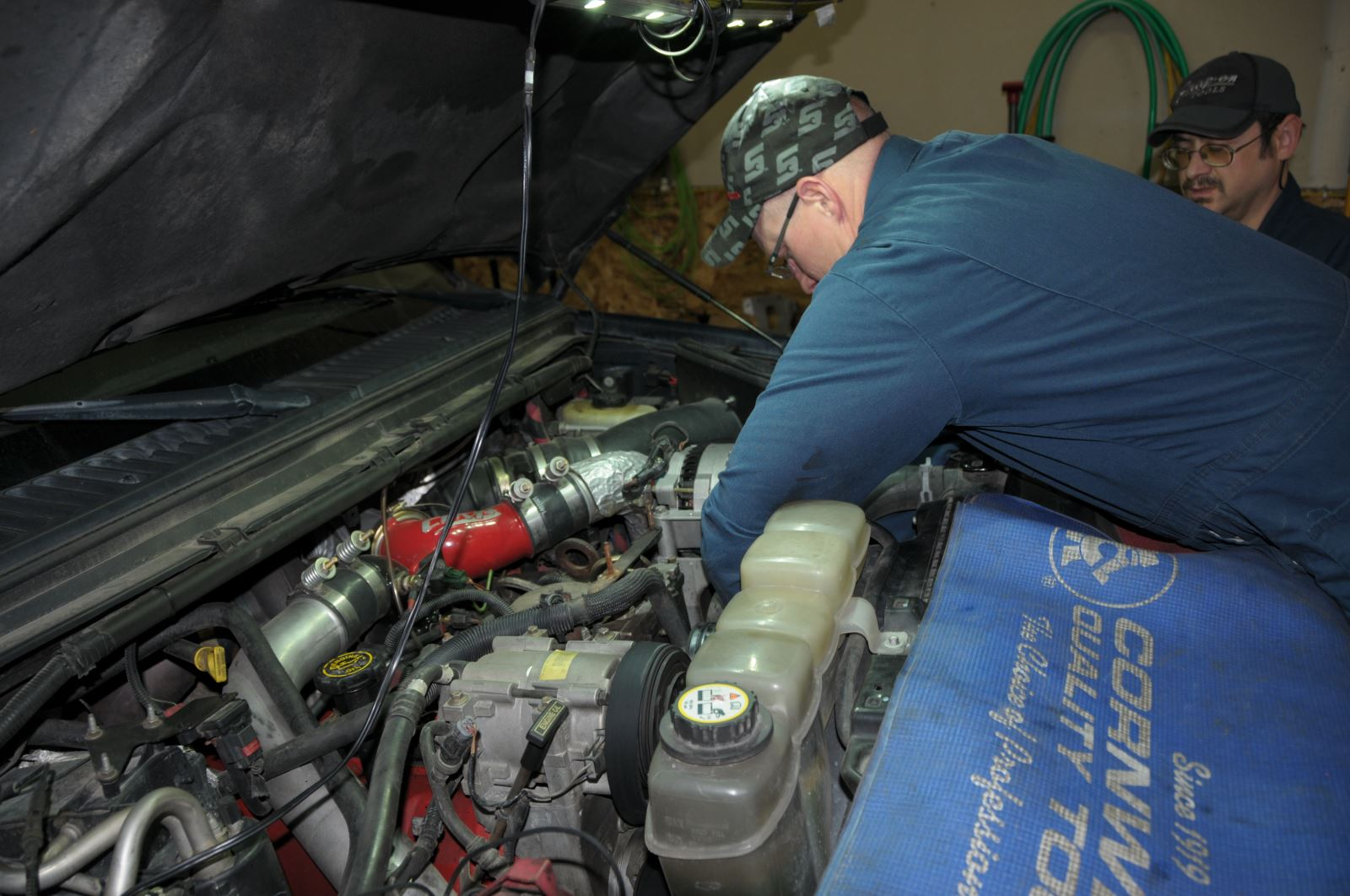 Summit Power Steering Pump Right Turn Made Easy For The 73l Bolt Conversion Kit Diesel Tech Magazine