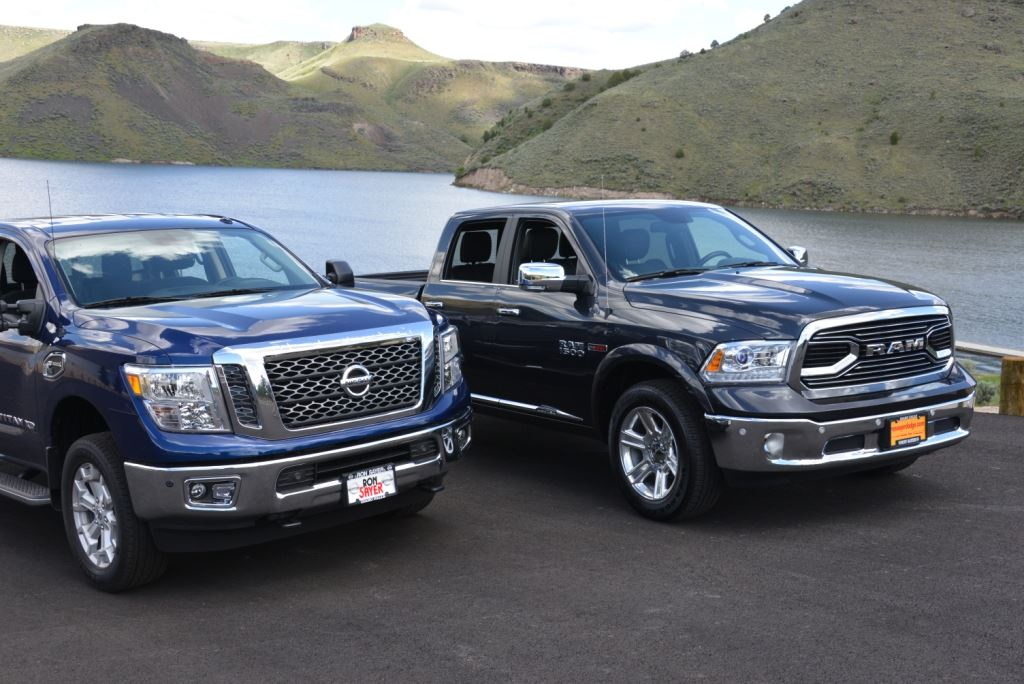 Nissan TITAN XD vs  RAM EcoDiesel Comparing the latest half